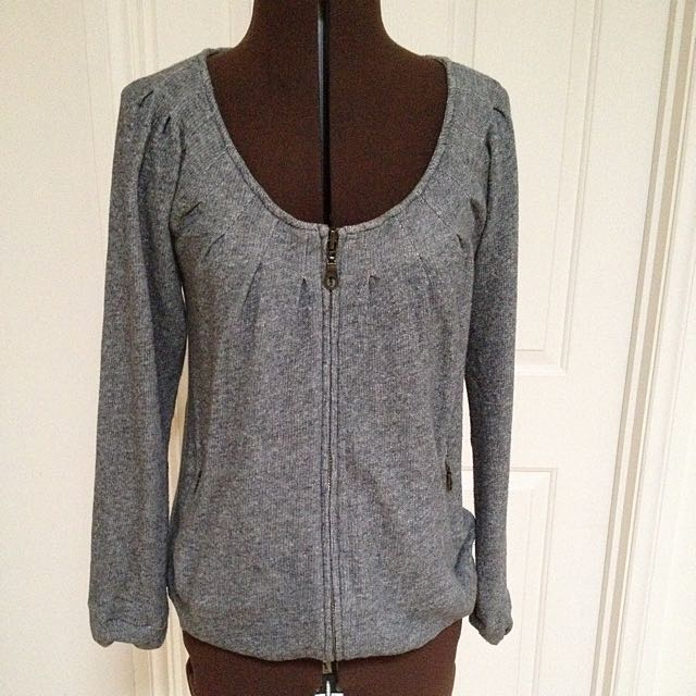 Witchery Zip Jumper size XS