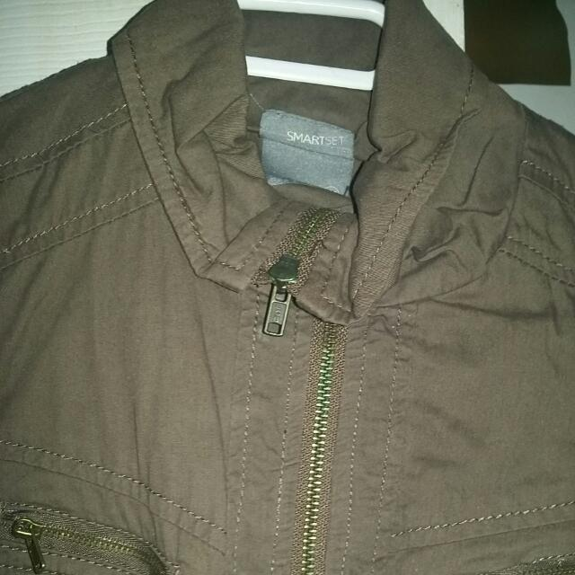 Xxs Smart Set jacket Army Green/khaki