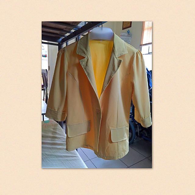 Yellowy Blazer