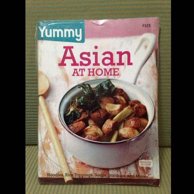 Yummy Asian at Home Cook Book
