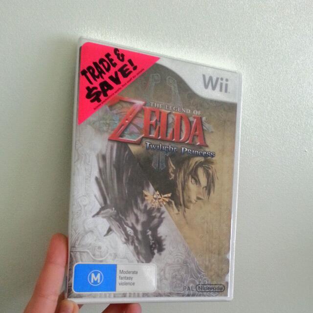 Zelda - Twilight Princess For Wii