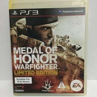 PS3 - Medal Of Honor Warfighter (limited Edition)