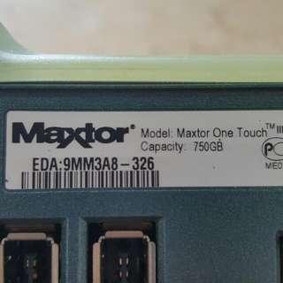 Maxtor Hardisk 750GB