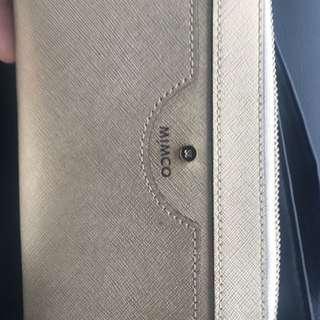 Mimco Beige Zip Wallet $100