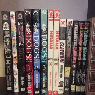 Manga assortments