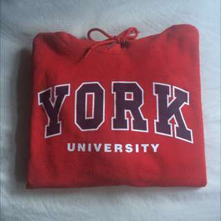 2 York University Sweaters