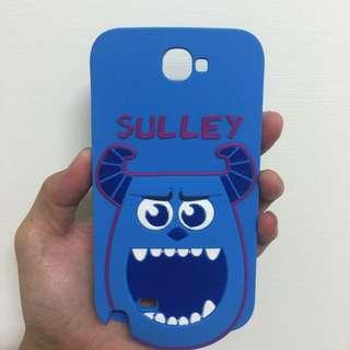 Disney 迪士尼 Monsters Uniyersity   怪獸電力公司 毛怪矽膠造型手機殼   Samsung galaxy note 2 N7100