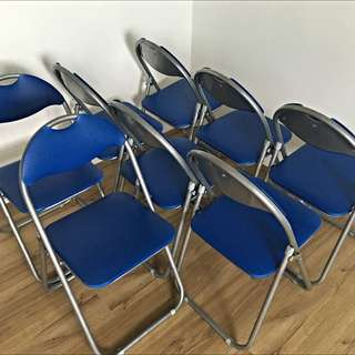 Foldable Chair x8