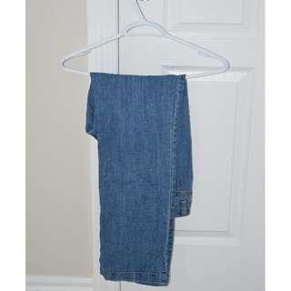 Blue flapper jeans