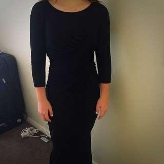 Simone Black Dress