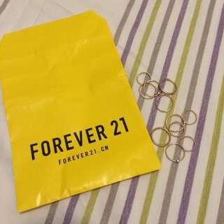 Forever 21造型戒指