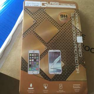 Glass Protector- White full Coverage iPhone 6