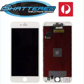 """iPhone 6s Plus 5.5"""" New LCD touch Screen Digitizer Assembly White"""