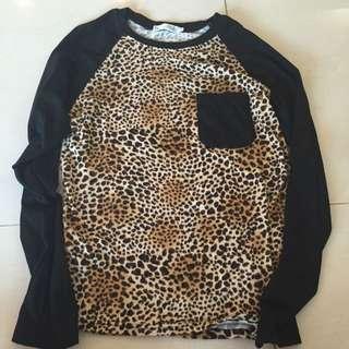 ENGUOLIN 豹紋T恤
