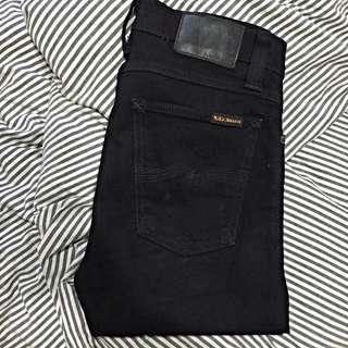 NUDIE JEANS CO. Black Skinny Jeans