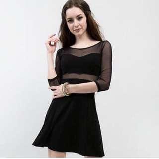 H&M 黑色洋裝 婚禮洋裝