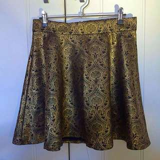 Valleygirl Patterned Skirt