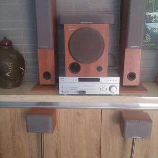 Sony中低音喇叭組