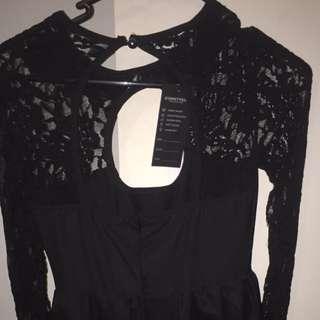SUNNYFAIR BLACK DRESS
