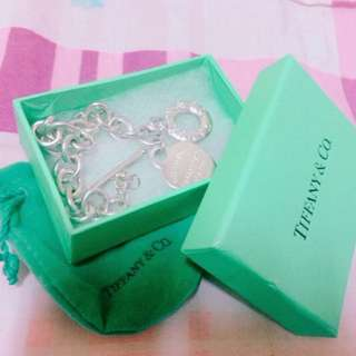 Tiffany&co 愛心手 鍊