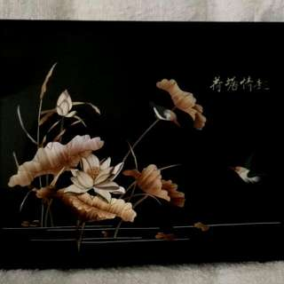 Unique Handmade Artworks / Pictures / Drawings At Factory Prices (Enjoy Fun At Lotus Pond) 独特的手工工艺品 / 图画 (荷塘情趣)—以厂商价大促销