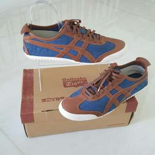 ONITSUKA US 10 Denim With Leather