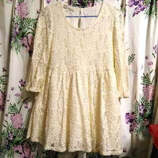 🚚 ★免運★Pazzo蕾絲洋裝