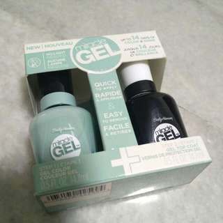Sally Hansen Gel Nail Polish In Mint Color