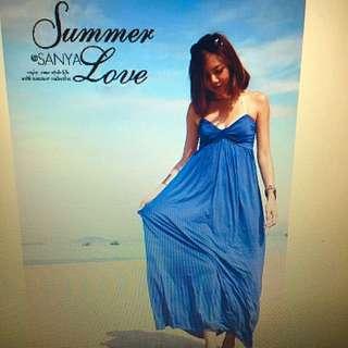 Ink Blue Maxi Dress