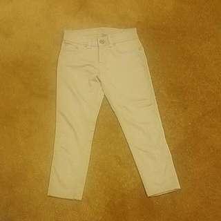 Sz 27 (8)Guess Jeans Beige Skinny Capri's