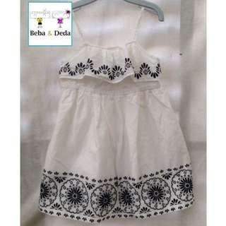 dress anak old navy putih size 3T & 5T