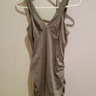 Grey Bandage Kookai Dress