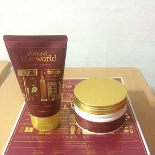 Faceshop Body Cream Gift Set
