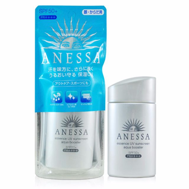 現貨!日本2016新品ANESSA安耐曬銀鑽保濕防曬露大容量60ml SPF50+PA++++