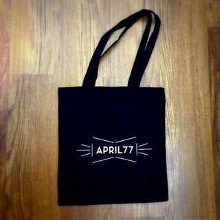 APRIL 77 Tote Bag