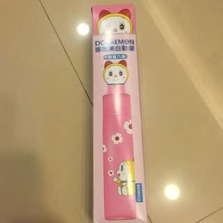 多啦美粉色自動傘