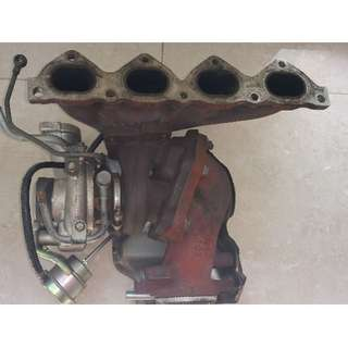 Airtrek Turbo TD04 with manifold