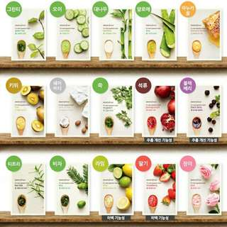 INNISFREE It's Real Squeeze Mask Assorted