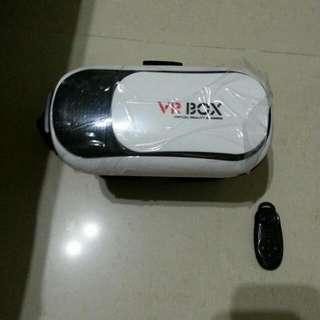 全新VR BOX 3D虛擬實境眼鏡,附搖控器,還有海量資源。