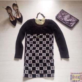 Chanel Logo dress