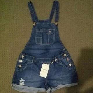 Size 10 Shortall Overalls