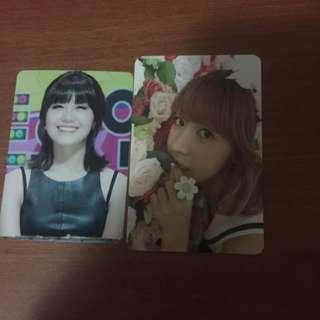 APINK NAMJOO(Secret Garden), Eunji (unofficial) Photocard