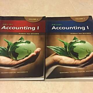 AB1101 Accounting 1 Textbooks