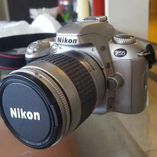 Nikon F55 Film Camera 28-80mm With Extra Zoom-nikkor