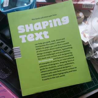 Shaping TEXT by Jan Middendorp