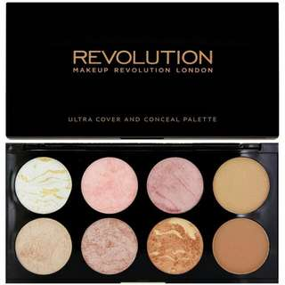 BLUSH ON AND CONCEAL PALETTE