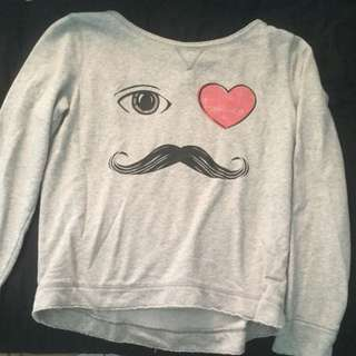 Moustache Sweater