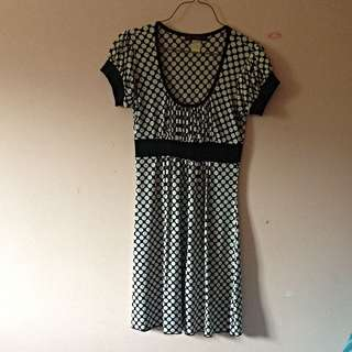 Black/white Polka Dot Dress (medium)