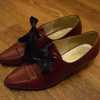 Red Loafers from Japan