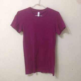 紫紅素T恤